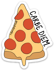 Carbe Diem Sticker