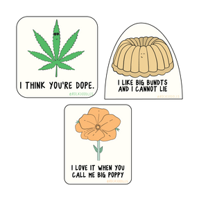 PG-13 Air Fresheners - Set of 3