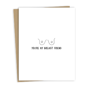 Breast Friend Card