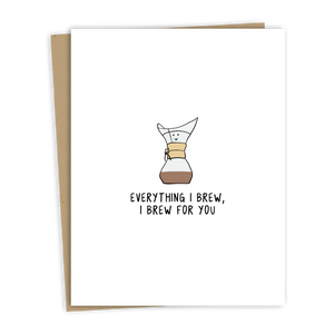 Brew For You Card