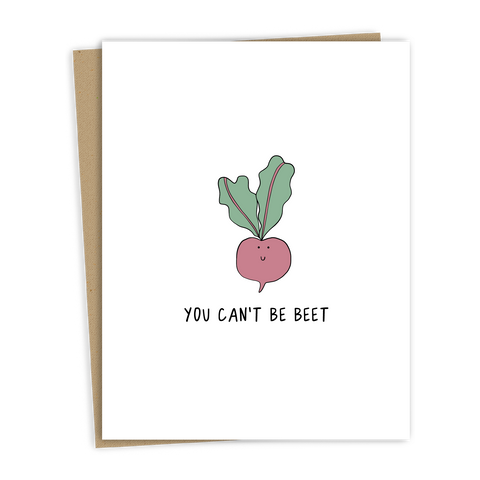 Can't Be Beet Card