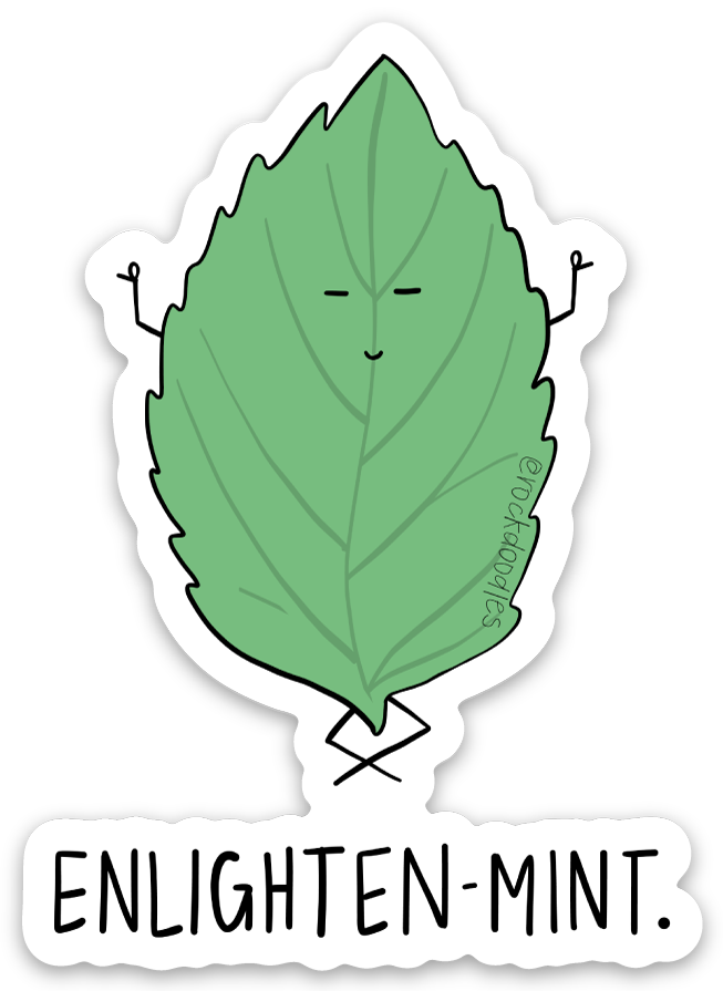 Enlightenmint Sticker