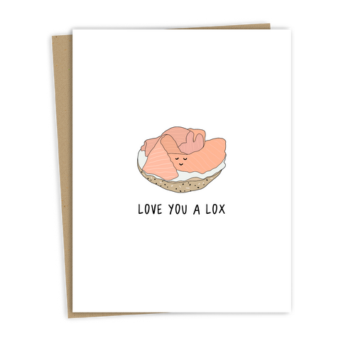 Love You A Lox Card
