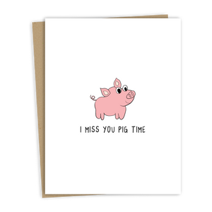 Pig Time Card