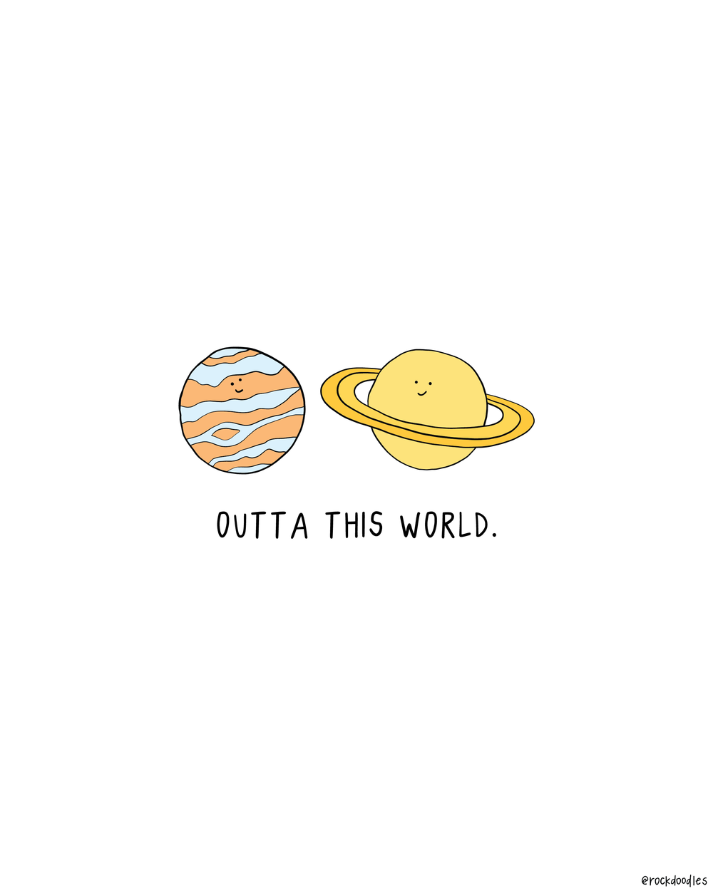 Outta This World Print