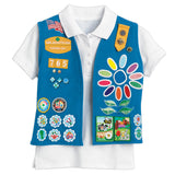Girl Scouts Daisy Vest - basicsclothing