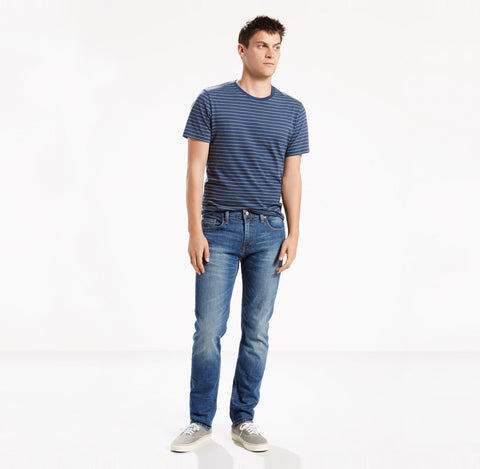 511 Slim Fit Men's Jeans - Throttle - basicsclothing