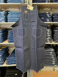 Denim Machinist's Apron - Indigo Blue - basicsclothing