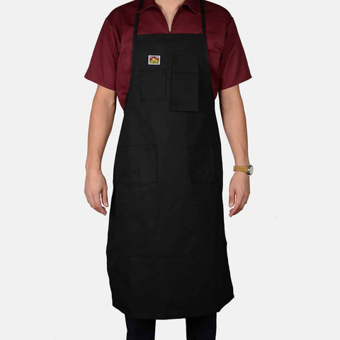 Apron - Black - basicsclothing