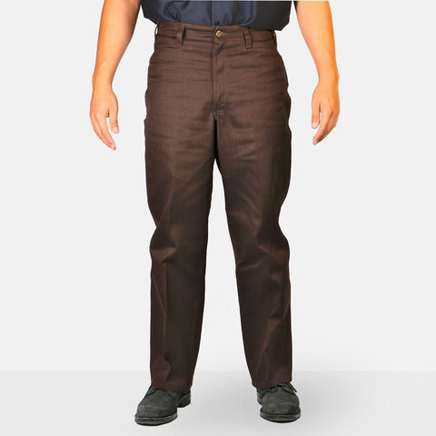 Original Ben's Work Pant - Brown - basicsclothing