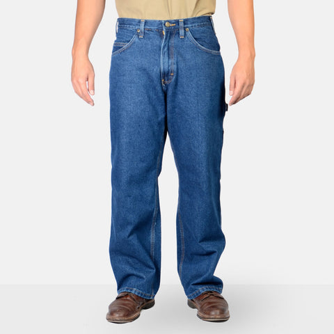Carpenter Pants – Washed Indigo Denim - basicsclothing