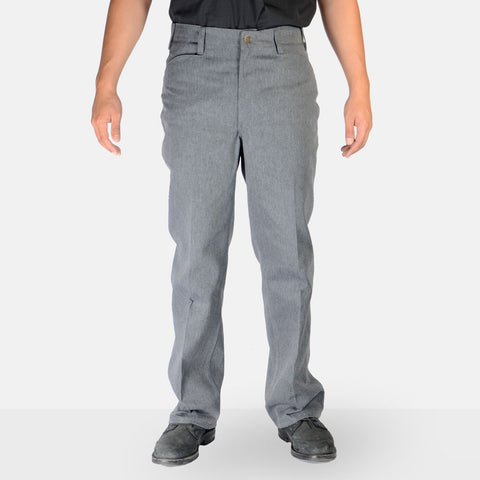 Trim Fit Pants – Charcoal Heather - basicsclothing