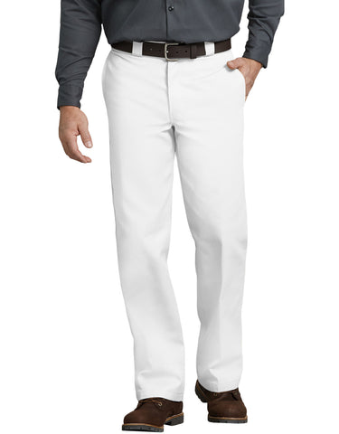 DICKIES ORIGINAL FIT 874 WORK PANT - White