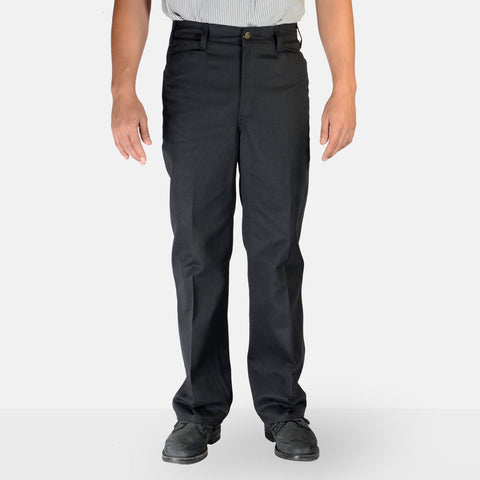 Trim Fit Pants – Black - basicsclothing