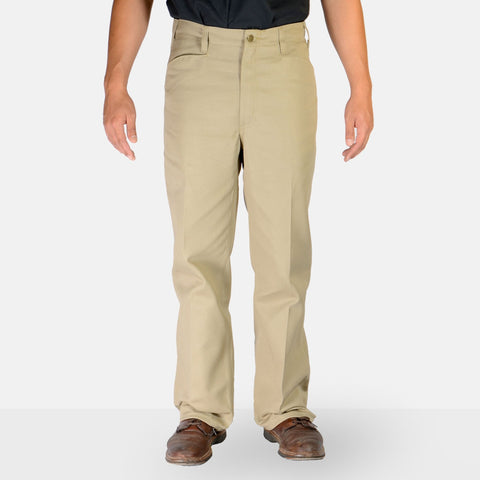 Trim Fit Pants – Khaki - basicsclothing