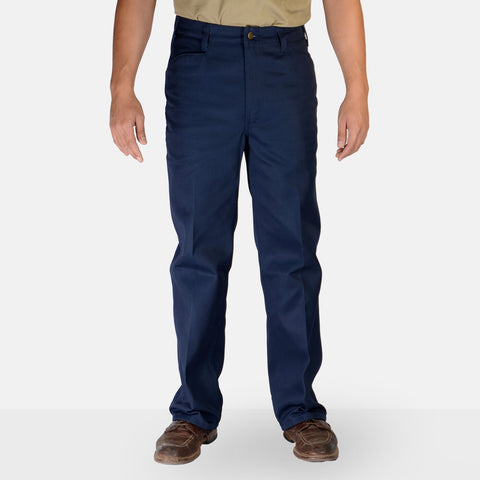 Trim Fit Pants – Navy - basicsclothing
