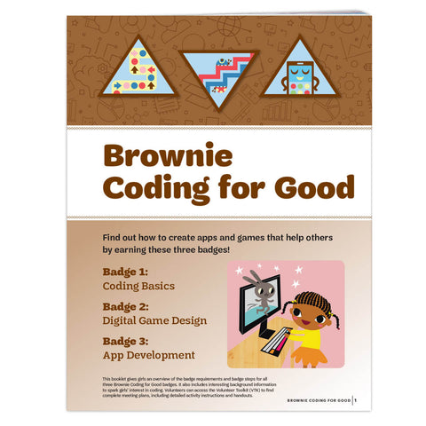 Girl Scouts Brownie Coding For Good Badge Requirements - basicsclothing