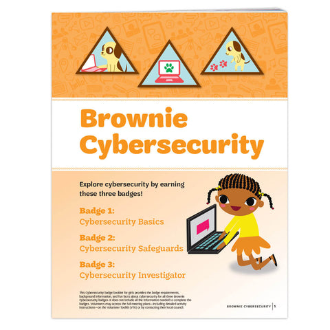 Girl Scouts Brownie Cybersecurity Badge Requirements - basicsclothing