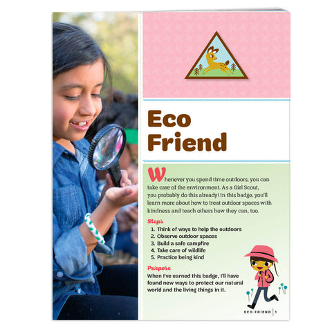 Girl Scouts Brownie Eco Friend Badge Requirements - basicsclothing
