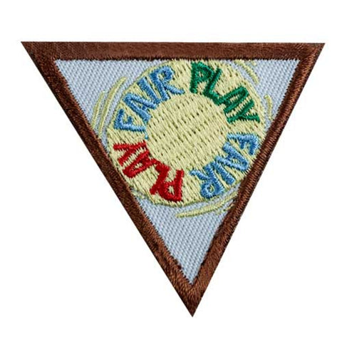 Girl Scouts Brownie Fair Play Badge - basicsclothing