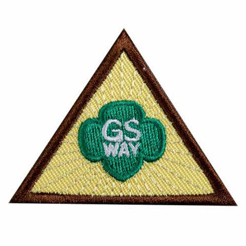 Girl Scouts Brownie Girl Scout Way Badge