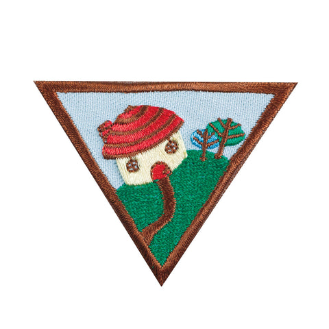 Girl Scouts Brownie Household Elf Badge - basicsclothing