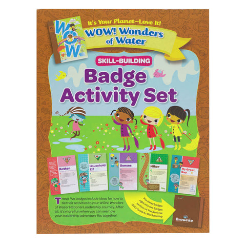 Girl Scouts Brownie It's Your Planet Badge Activity Set - Basics Clothing Store