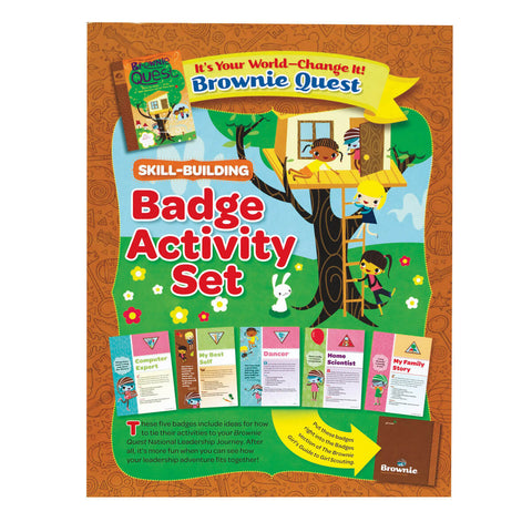 Girl Scouts Brownie It's Your World Badge Activity Set - basicsclothing