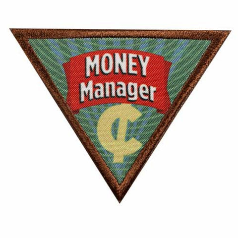Girl Scouts Brownie Money Manager Badge - basicsclothing