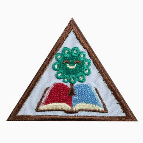Girl Scouts Brownie My Family Story Badge - basicsclothing