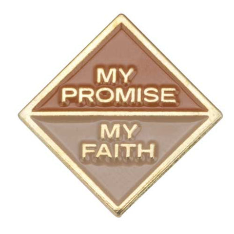 Girl Scouts Brownie My Promise, My Faith Pin - Year 2 - Basics Clothing Store