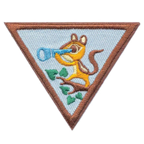 Girl Scouts Brownie Outdoor Adventurer Badge - basicsclothing