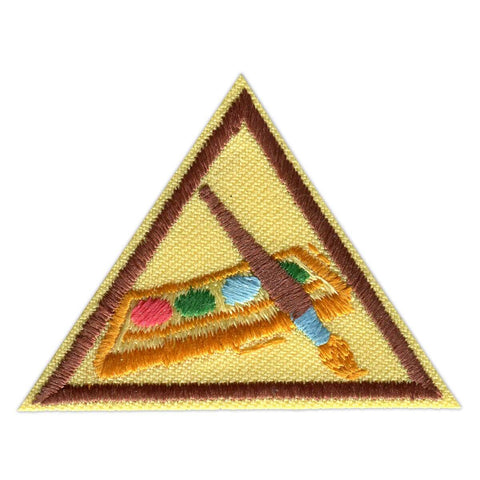 Girl Scouts Brownie Painting Badge