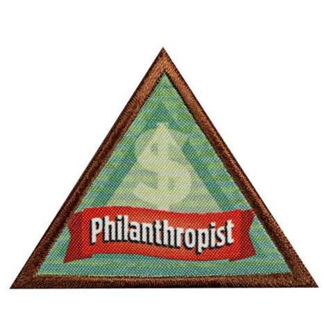 Girl Scouts Brownie Philanthropist Badge