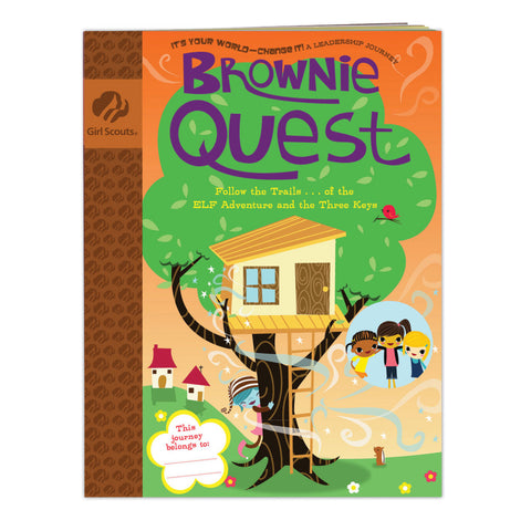 Girl Scouts Brownie Quest Journey Book - basicsclothing