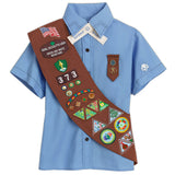 Girl Scouts Brownie Sash - basicsclothing