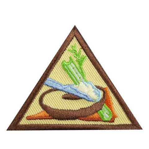 Girl Scouts Brownie Snacks Badge - basicsclothing