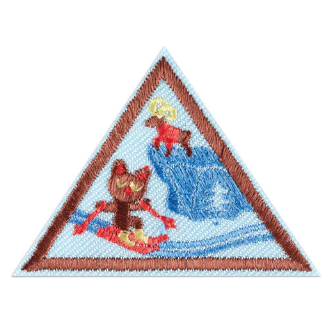 Girl Scouts Brownie Snow or Climbing Adventure Badge - basicsclothing