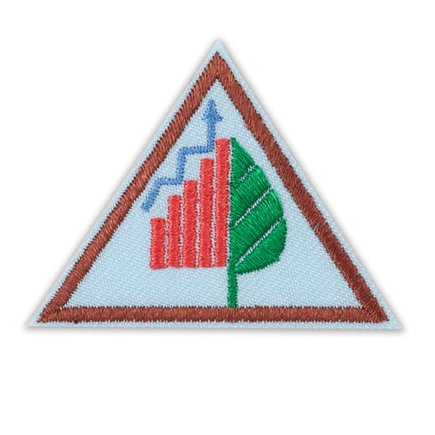 Girl Scouts Brownie Think Like A Citizen Scientist Award Badge - basicsclothing
