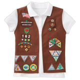 Girl Scouts Brownie Vest - basicsclothing