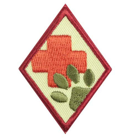 Girl Scouts Cadette Animal Helpers Badge - basicsclothing