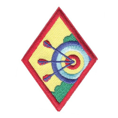 Girl Scouts Cadette Archery Badge - basicsclothing