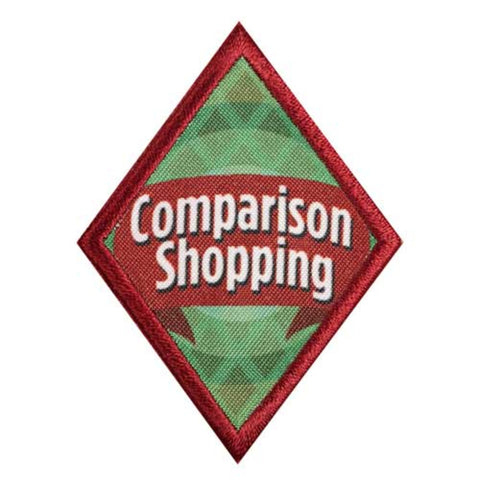 Girl Scouts Cadette Comparison Shopping Badge - basicsclothing