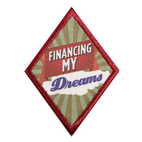 Girl Scouts Cadette Financing My Dreams Badge - basicsclothing
