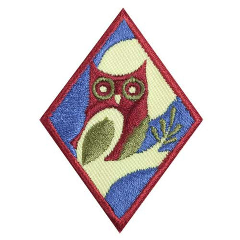 Girl Scouts Cadette Night Owl Badge - basicsclothing