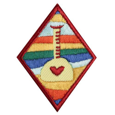 Girl Scouts Cadette Science Of Happiness Badge - basicsclothing