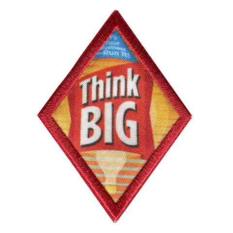 Girl Scouts Cadette Think Big Badge - basicsclothing