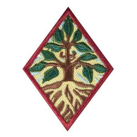 Girl Scouts Cadette Trees Badge - basicsclothing