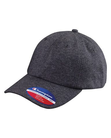 Champion - Jersey Knit Dad's Cap - CS4001 - basicsclothing