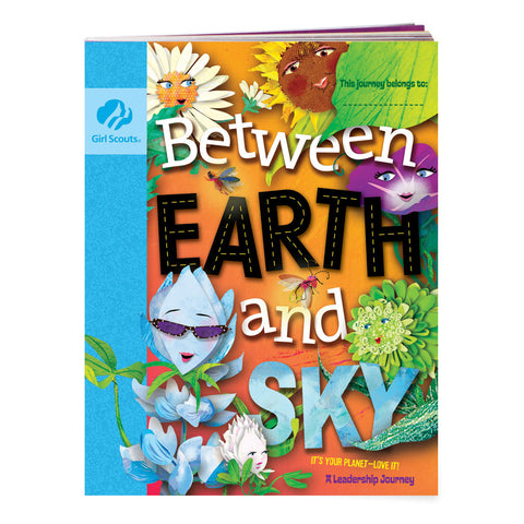 Girl Scouts Daisy Between Earth And Sky Journey Book - Basics Clothing Store